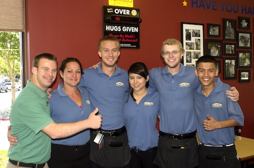 Tim Harris and Tim's place employees