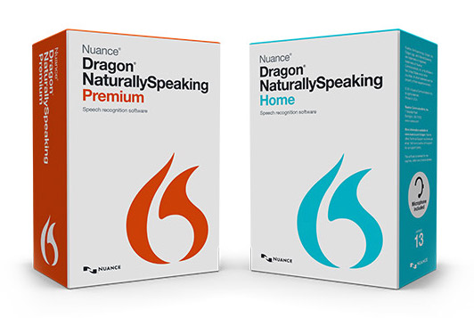 Photo of Dragon Naturally Speaking software packing